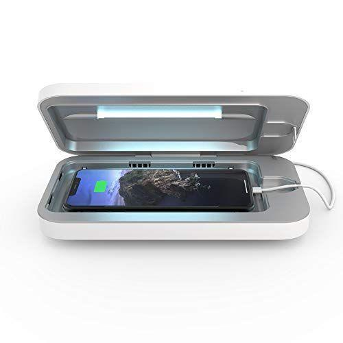 """<p><strong>PhoneSoap</strong></p><p>amazon.com</p><p><strong>$99.99</strong></p><p><a href=""""https://www.amazon.com/dp/B07RP2WTK4?tag=syn-yahoo-20&ascsubtag=%5Bartid%7C2139.g.19521968%5Bsrc%7Cyahoo-us"""" rel=""""nofollow noopener"""" target=""""_blank"""" data-ylk=""""slk:BUY IT HERE"""" class=""""link rapid-noclick-resp"""">BUY IT HERE</a></p><p>This unique and thoughtful gift will help dad to keep his phone germ-free whenever his phone can use a good cleaning. Phone Soap's popular sanitizer is battery-powered, so he can even take this fun gadget on all his travels. </p>"""