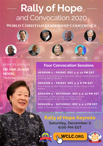 World Christian Leadership Conference Rally of Hope and Convocation 2020