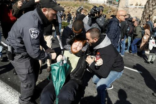 Israel arrests after protests against soldier's conviction