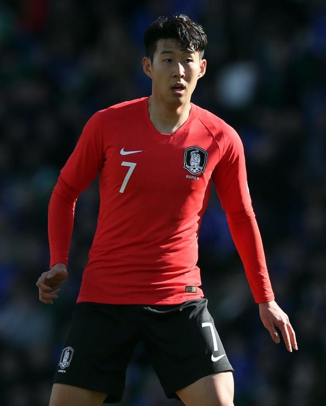 Spurs striker Son Heung-min pulled the strings for South Korea but was unable to make a breakthrough (Brian Lawless/PA)