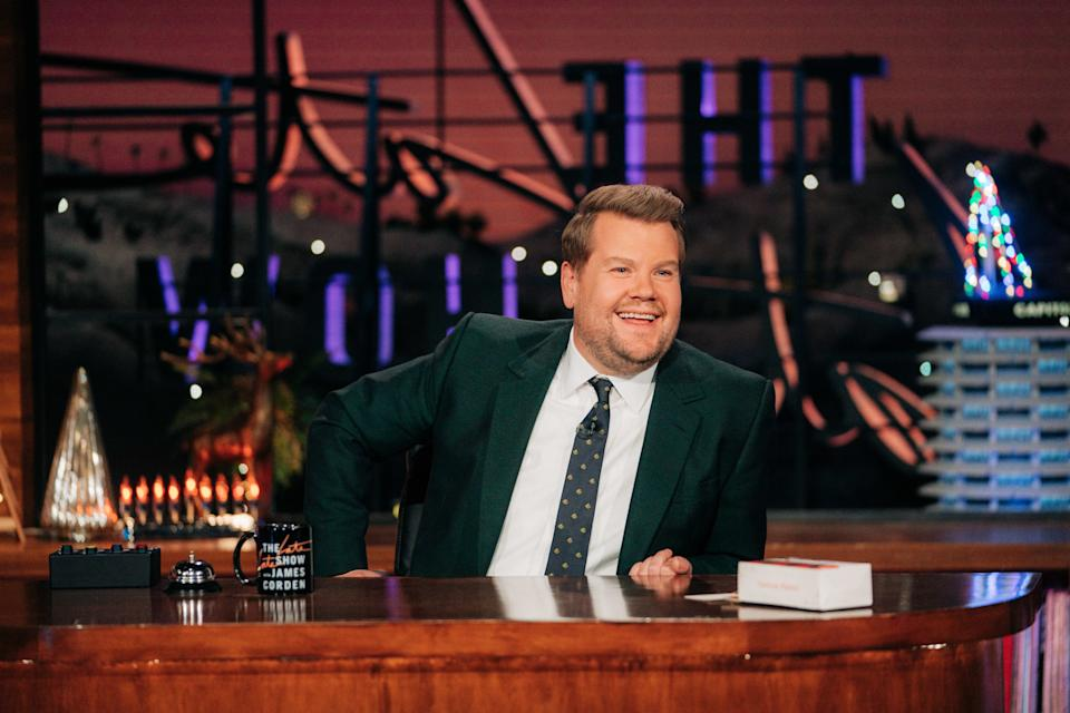 LOS ANGELES - DECEMBER 8: The Late Late Show with James Corden airing Tuesday, December 8, 2020, with guests Meryl Streep and Billy Eichner. (Photo by Terence Patrick/CBS via Getty Images)