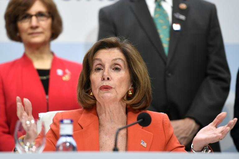 US House Speaker Nancy Pelosi said Beijing's treatment of the Uighur community was an 'outrage to the collective conscience of the world'