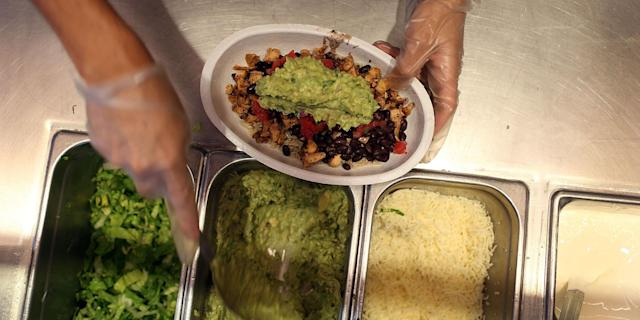 Guac is extra.