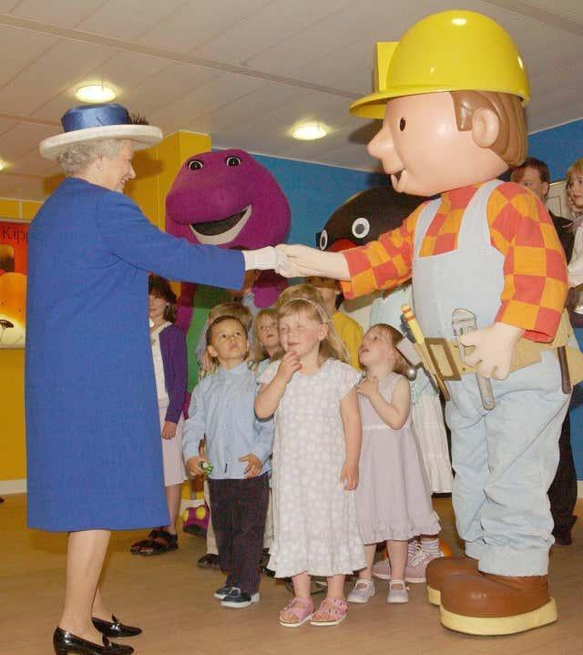 The Queen and Bob the Builder
