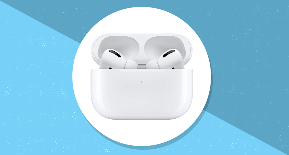 Save $14 on the new Apple AirPods Pro. (Photo: Amazon/Yahoo Lifestyle)