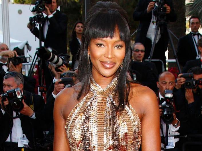 naomi campbell cannes