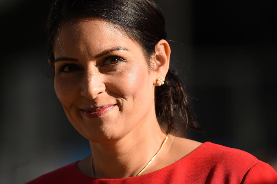 "Home secretary Priti Patel says Britain has been ""soft"" on foreign criminals (Picture: AFP/Getty)"