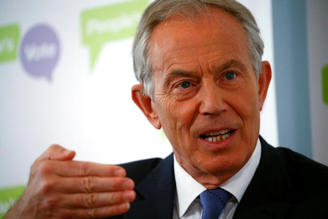 Britain's former prime minister Tony Blair. Photo: Henry Nicholls/Reuters