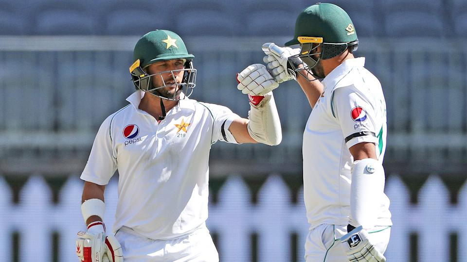 Pakistan's tailenders added valuable runs against the Aussies in Perth.