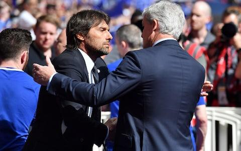 Conte vs Hughes - Credit: AFP