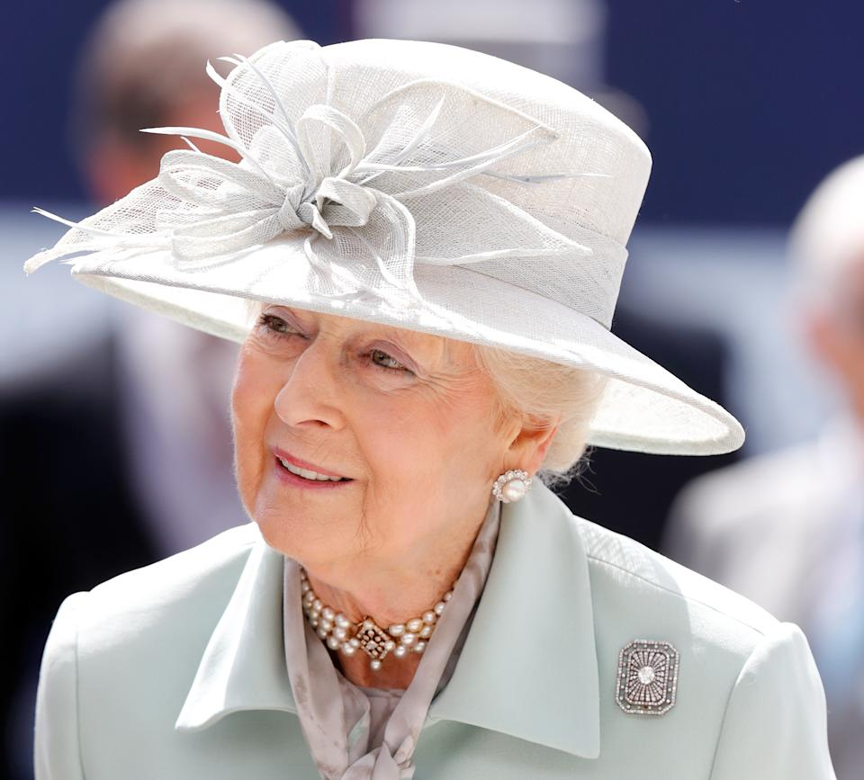 EPSOM, UNITED KINGDOM - JUNE 01: (EMBARGOED FOR PUBLICATION IN UK NEWSPAPERS UNTIL 24 HOURS AFTER CREATE DATE AND TIME) Princess Alexandra attends 'Derby Day' of the Investec Derby Festival at Epsom Racecourse on June 1, 2019 in Epsom, England. (Photo by Max Mumby/Indigo/Getty Images)