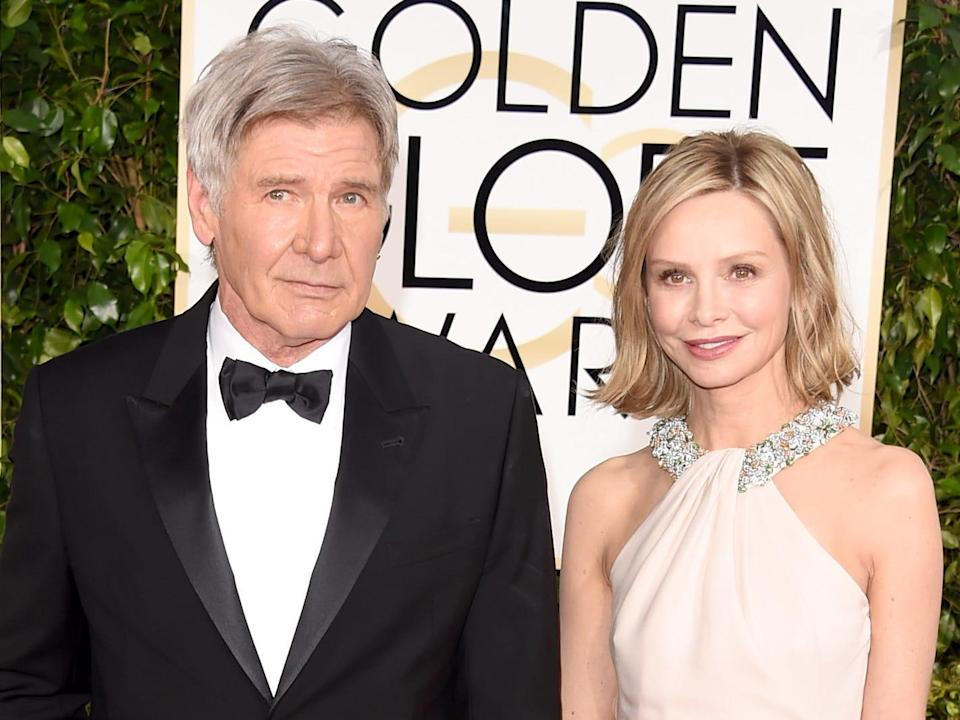 calista flockhart harrison ford