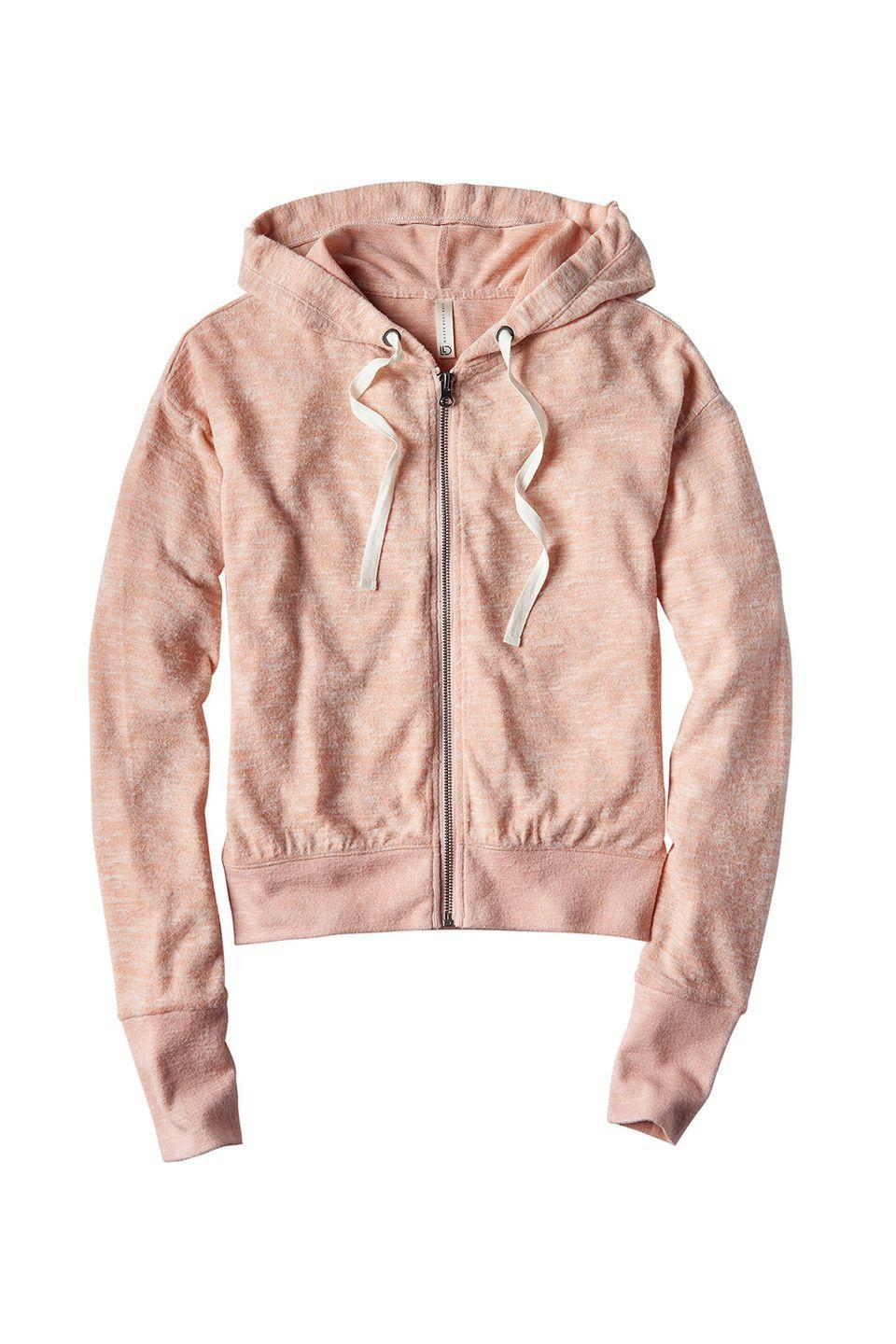 """<p>So soft you'll *literally* never want to take it off.</p><p>Aéropostale hoodie, $20, <a href=""""http://www.aeropostale.com/"""" rel=""""nofollow noopener"""" target=""""_blank"""" data-ylk=""""slk:aeropostale.com"""" class=""""link rapid-noclick-resp"""">aeropostale.com</a></p>"""