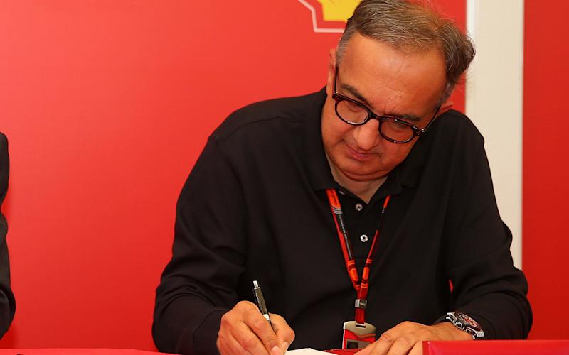 Sergio Marchionne - 2015 Getty Images