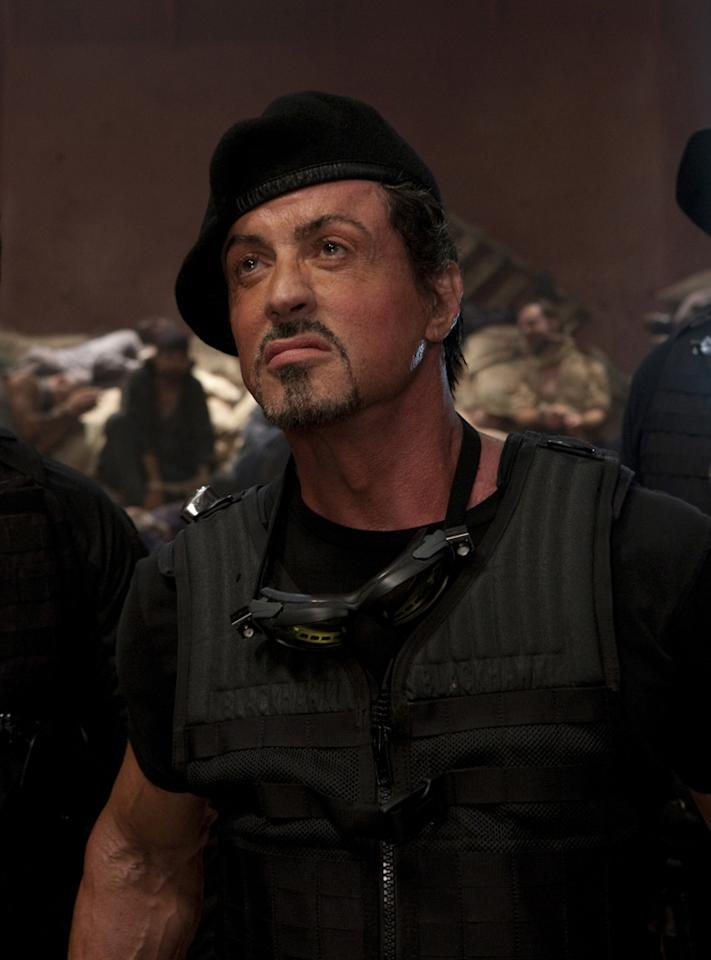"""<a href=""""http://movies.yahoo.com/movie/contributor/1800020291"""">SYLVESTER STALLONE</a>  Age: 64  Year of First Film Appearance: 1970  Number of Oscar Nominations: 2  Total Domestic BO Gross: $1,639,909,420   Sly was nominated for both the Best Writer and Best Actor Oscar for the same movie -- """"<a href=""""http://movies.yahoo.com/movie/1800112611/info"""">Rocky</a>."""" Up to that point, only two other people managed to do that -- Orson Welles and Charlie Chaplin."""