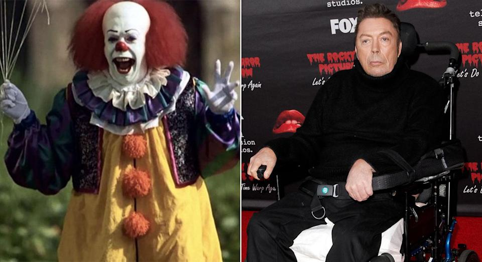 Pennywise as played by Tim Curry.