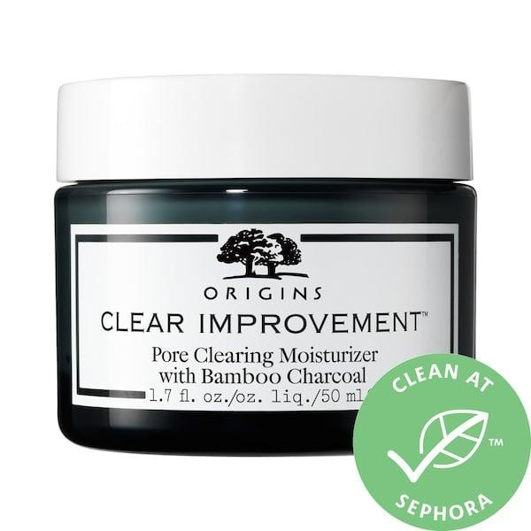 <p>To deal with breakouts and dehydration in a one-two punch, the <span>Origins Clear Improvement Pore Clearing Moisturizer with Salicylic Acid</span> ($36) features salicylic acid and bamboo charcoal to absorb skin's impurities and purify pores. This acne treatment-slash-oil-free-moisturizer combo is a top-rated choice for lasting hydration <em>and</em> pimple prevention.</p>