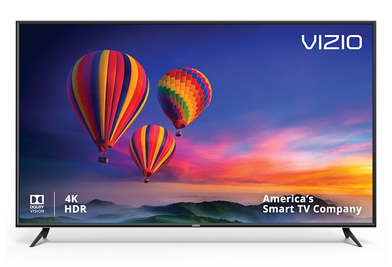 With a 120Hz refresh rate, this 65-incher is great for watching live sports. (Photo: Walmart)