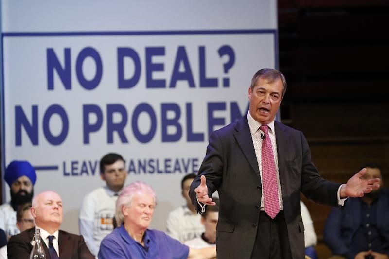 MEP and former UKIP leader Nigel Farage has been campaigning for Britain to leave the European Union for 25 years (AFP Photo/Tolga AKMEN)