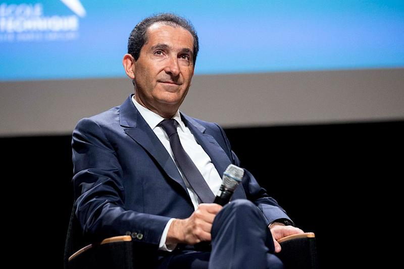 Patrick Drahi mentre pensa alla prossima cosa da comprare (Photo by Christophe Morin/IP3/Getty Images)