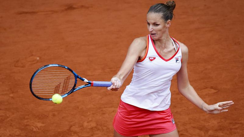 Sloppy Pliskova recovers to advance to second round at French Open