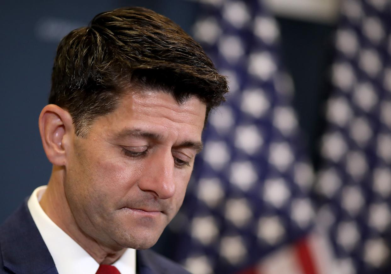The conservativeClub for Growth urged House Speaker Paul Ryan to emphasize the GOP's tax cut bill before the midterm elections, but Republicans focused on other issues. (Photo: Win McNamee via Getty Images)