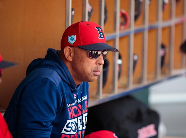 Red Sox manager Alex Cora wasn't pleased with his team's play in Seattle, but he's still confident in his group and had a simple message for the team's critics.