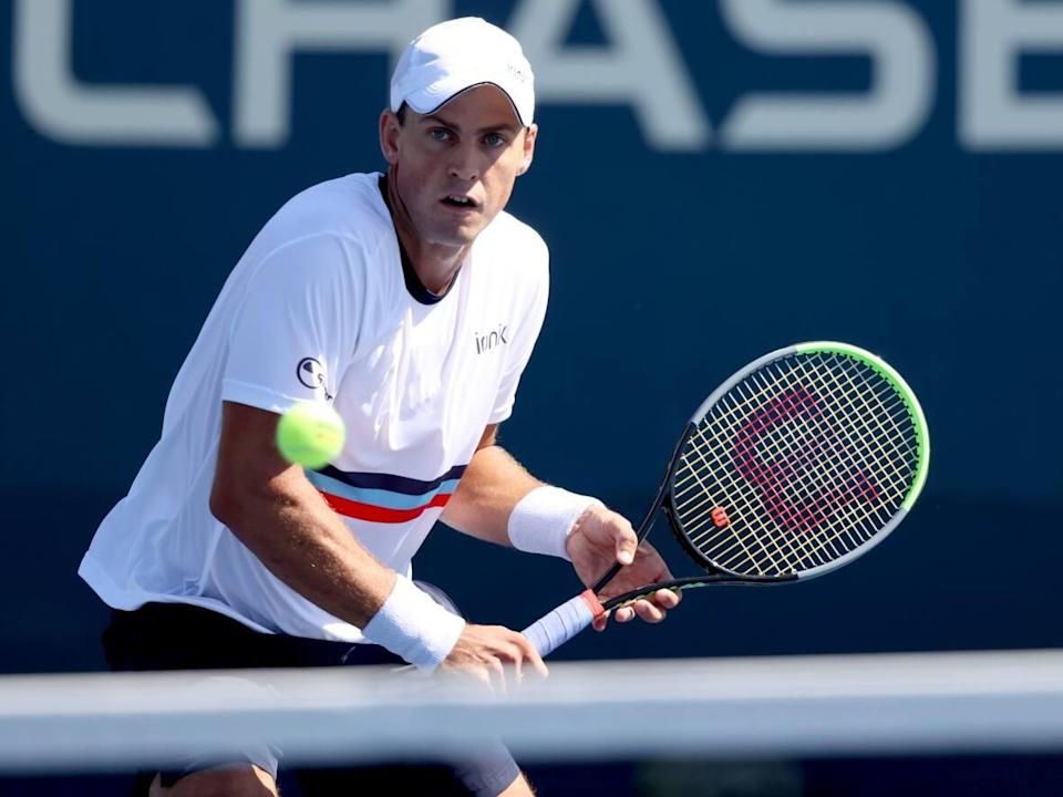 Canada's Vasek Pospisil, seen above at the U.S. Open, won a first-round match against American J.J. Wolf at Indian Wells on Thursday. (Matthew Stockman/Getty Images - image credit)
