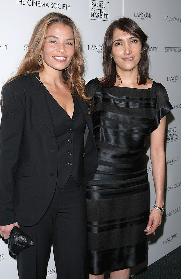 """<a href=""""http://movies.yahoo.com/movie/contributor/1800128952"""">Jenny Lumet</a> and producer <a href=""""http://movies.yahoo.com/movie/contributor/1809113143"""">Neda Armian</a> at the Cinema Society New York City premiere of <a href=""""http://movies.yahoo.com/movie/1809961213/info"""">Rachel Getting Married</a> - 09/25/2008"""