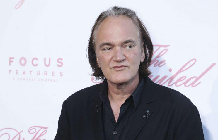 Tarantino… said to be planning movie on Charles Manson – Credit: Getty