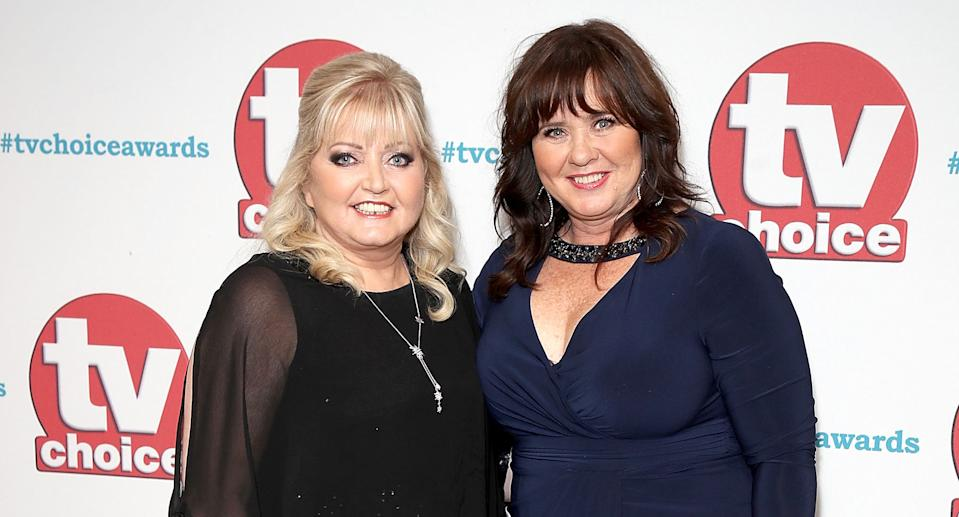 Coleen Nolan has concerns for sister Linda Nolan undergoing cancer treatment while the coronavirus pandemic continues.  (Mike Marsland/WireImage)