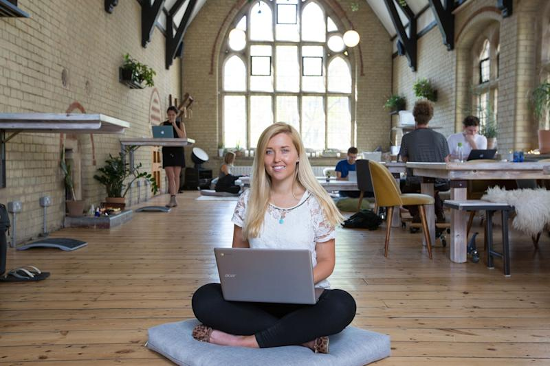 Katie Strick tries out the co-working space 42 Acres in Shoreditch: Matt Writtle
