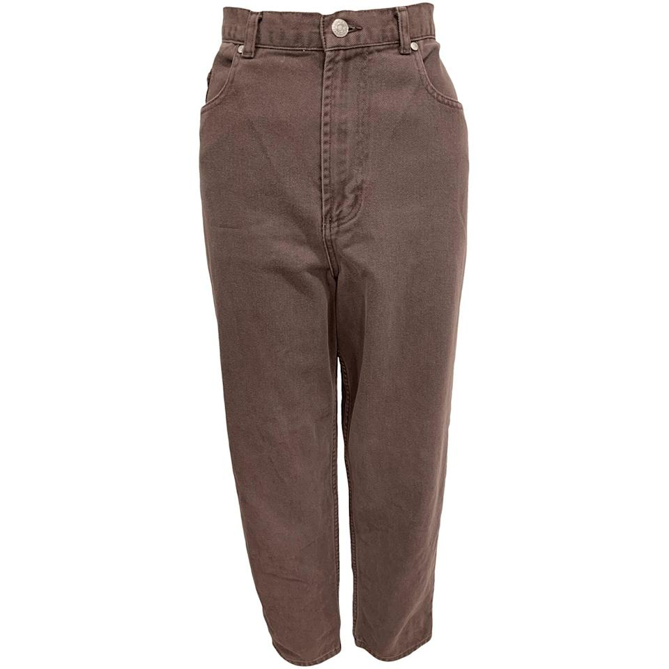 """<br><br><strong>Van Heusen</strong> 90's Dark Taupe Jeans by Van Heusen - Plus Size, $, available at <a href=""""https://go.skimresources.com/?id=30283X879131&url=https%3A%2F%2Fshopthrilling.com%2Fcollections%2Fplus-size%2Fproducts%2F90-s-dark-taupe-jeans-by-van-heusen"""" rel=""""nofollow noopener"""" target=""""_blank"""" data-ylk=""""slk:Thrilling"""" class=""""link rapid-noclick-resp"""">Thrilling</a>"""