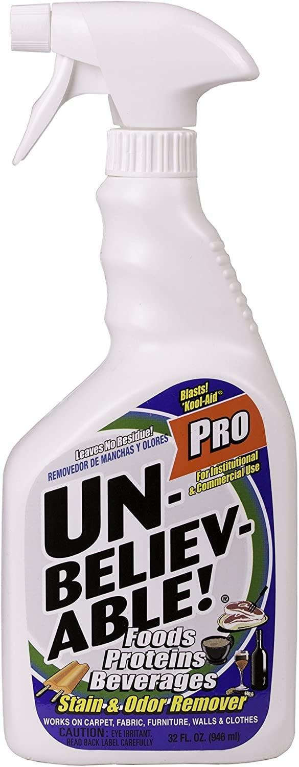Unbelievable! Pro Stain & Odor Remover