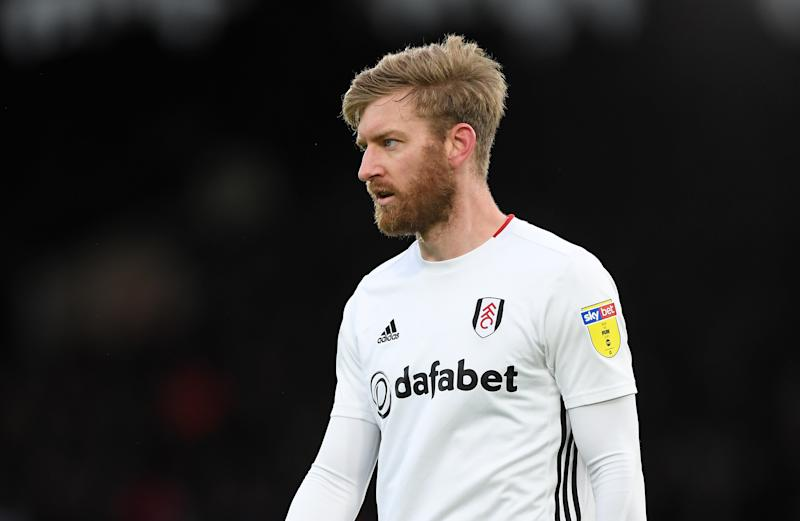Tim Ream looks on during a match.