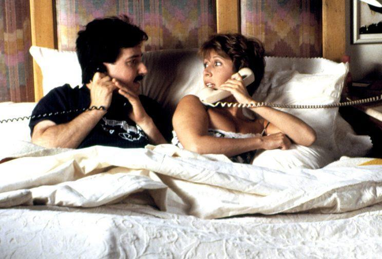 <p>Carrie Fisher in <em>When Harry Met Sally</em> with Bruno Kirby in 1989. (Photo: Everett Collection)</p>