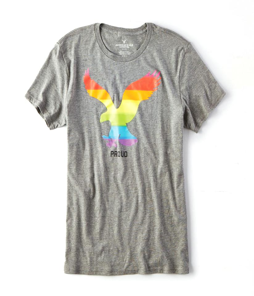 "<p>AEO Pride Graphic T-Shirt, $20, <a rel=""nofollow"" href=""http://www.ae.com/web/browse/product_details.jsp?productId=1305_9809_550"">ae.com</a></p>"