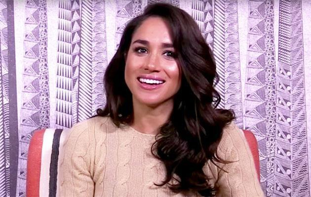 Meghan Markle spectacularly failed a British knowledge quiz last year. Photo: YouTube/UKTV