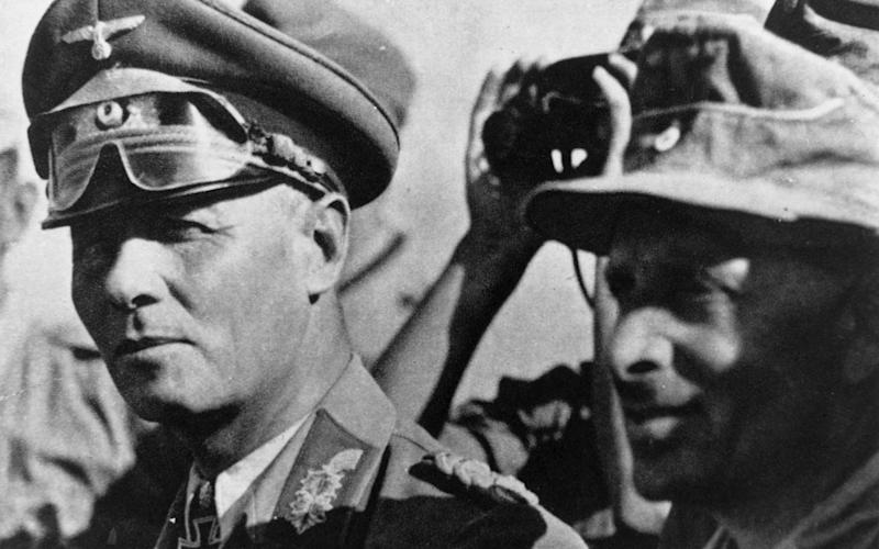 Erwin Rommel was a Second World War Nazi general  - HULTON ARCHIVE
