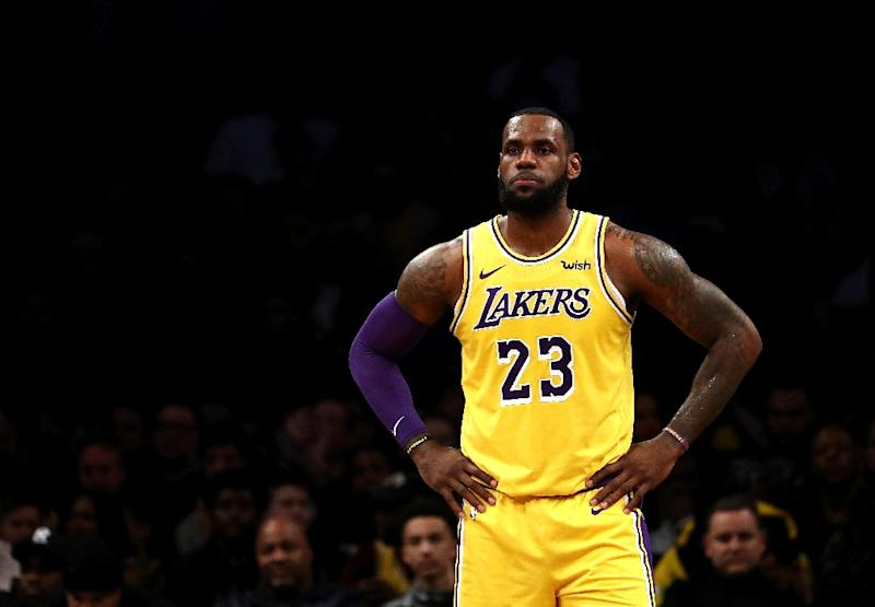 LA Lakers release statement on LeBron James' injury