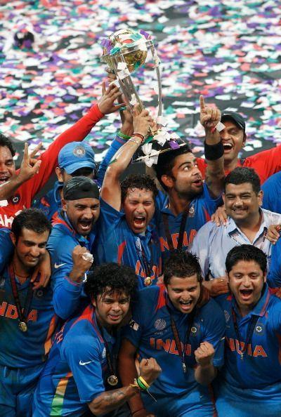 India's exhilarating triumph in the 2011 World Cup final was the fourth in the streak of 11 consecutive victories in World Cup matches.