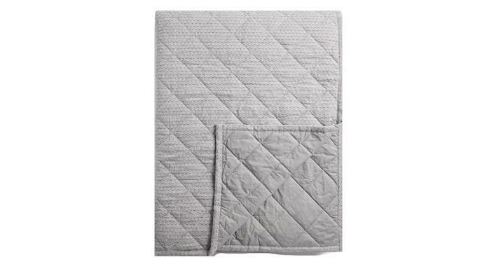 Mini Triangle Quilted Bedspread