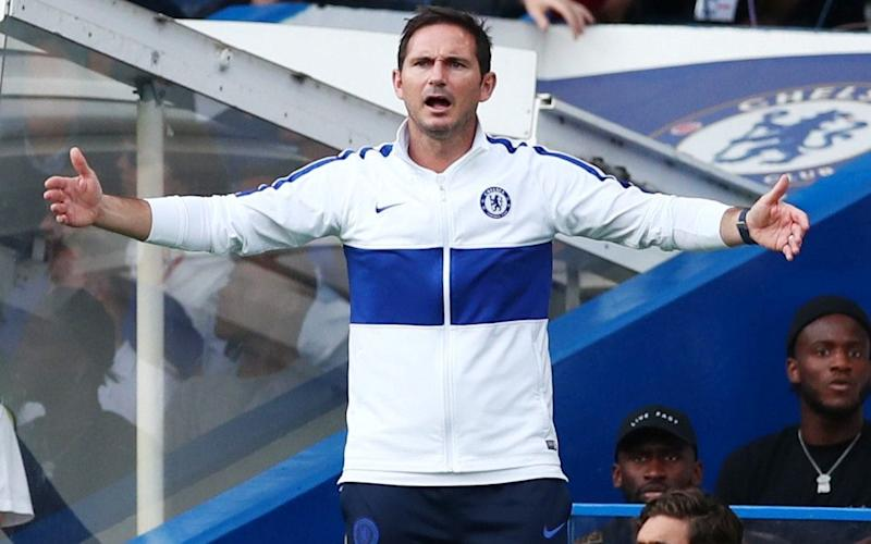 Lampard lamented Chelsea's loss of control after Leicester fought back to claim a point at Stamford Bridge - REUTERS