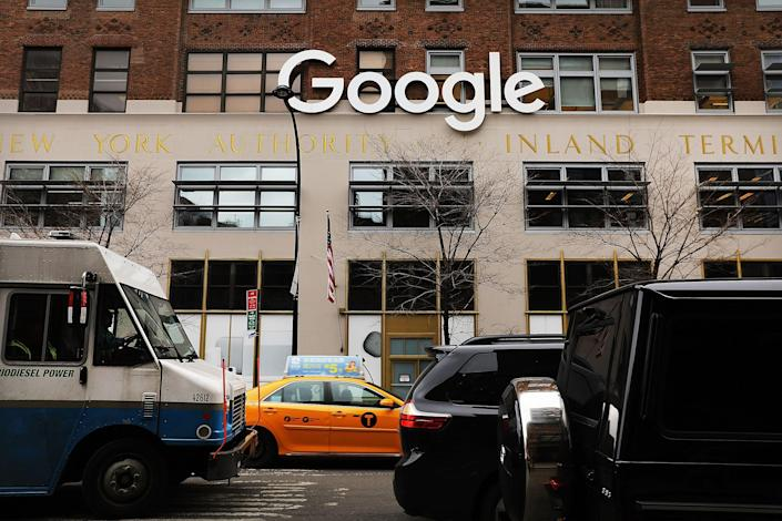 Google is one of many large tech companies to sign significant deals in New York City.