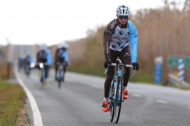 Alexis Vuillermoz got to bike through his hometown during Stage 8. (Getty)