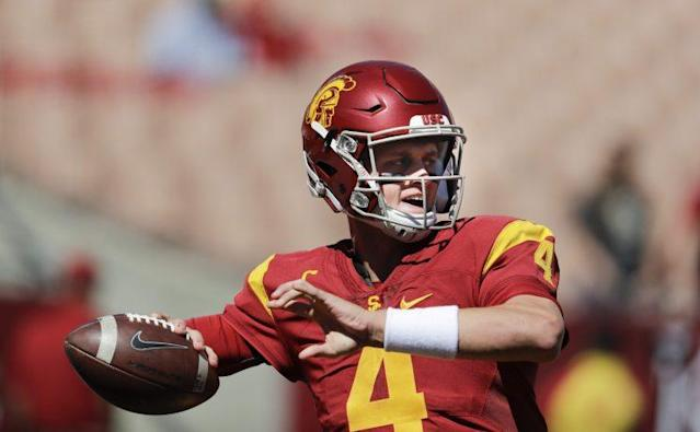 USC grad transfer QB Max Browne looks for a happy ending at Pitt. (AP)