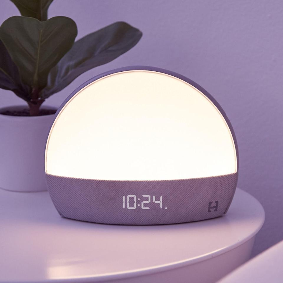 <p>The <span>Hatch Restore</span> ($130) is such an innovative bedside buddy that will lull them to sleep. It's a smart sleep assistant that prepares them for bed and to wake up with ease. It's a sound machine, a sunrise alarm, a smart light, a meditation app, and an alarm clock all in one sleek gadget. </p>