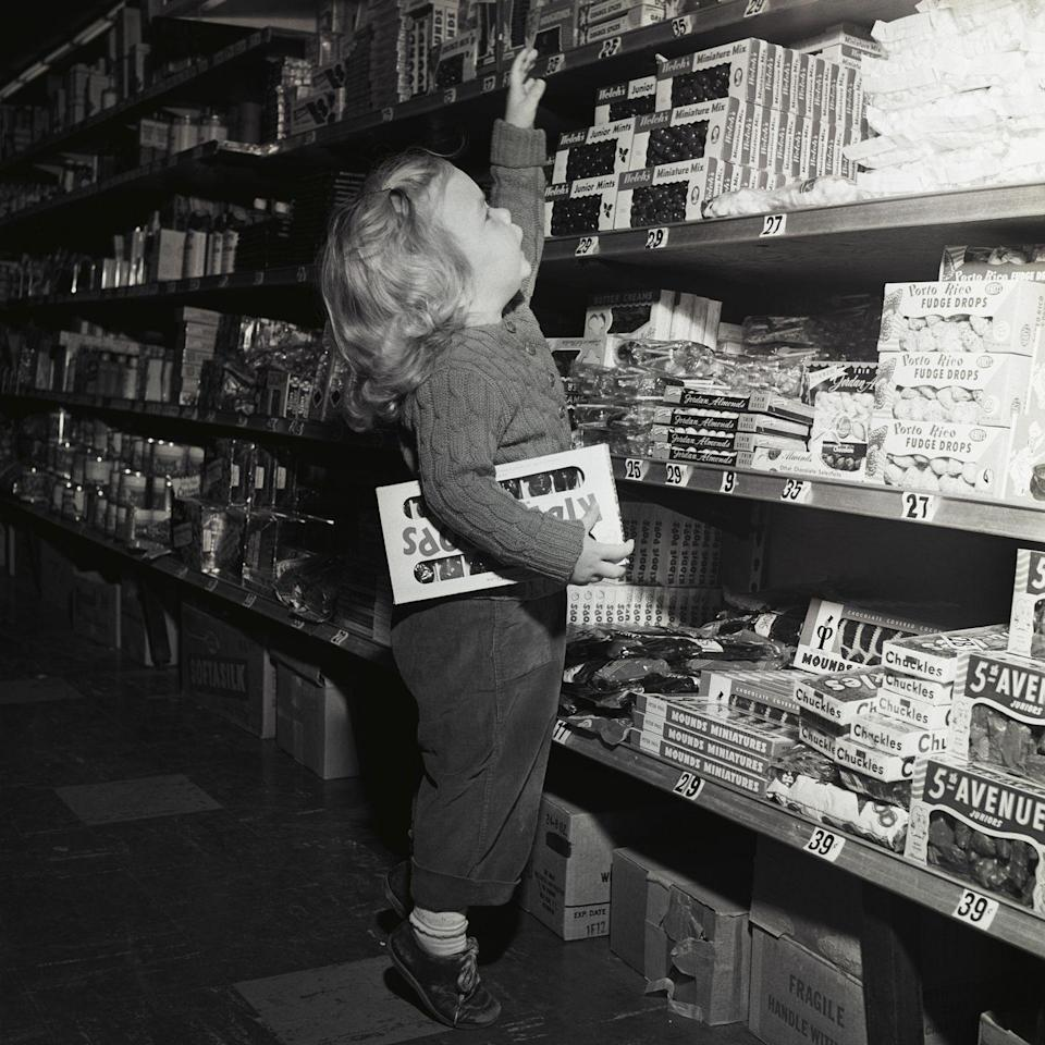 <p>The next time you see someone straining to reach something on the highest shelf at the grocery store, help her out!</p>