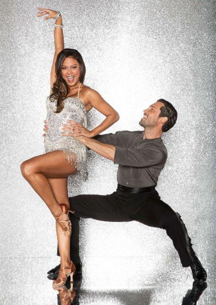 PHOTO: Vanessa Lachey and pro dancer Maksim Chmerkovskiy will compete for the mirror ball title on the new season 'Dancing With The Stars.' (Craig Sjodin/ABC)