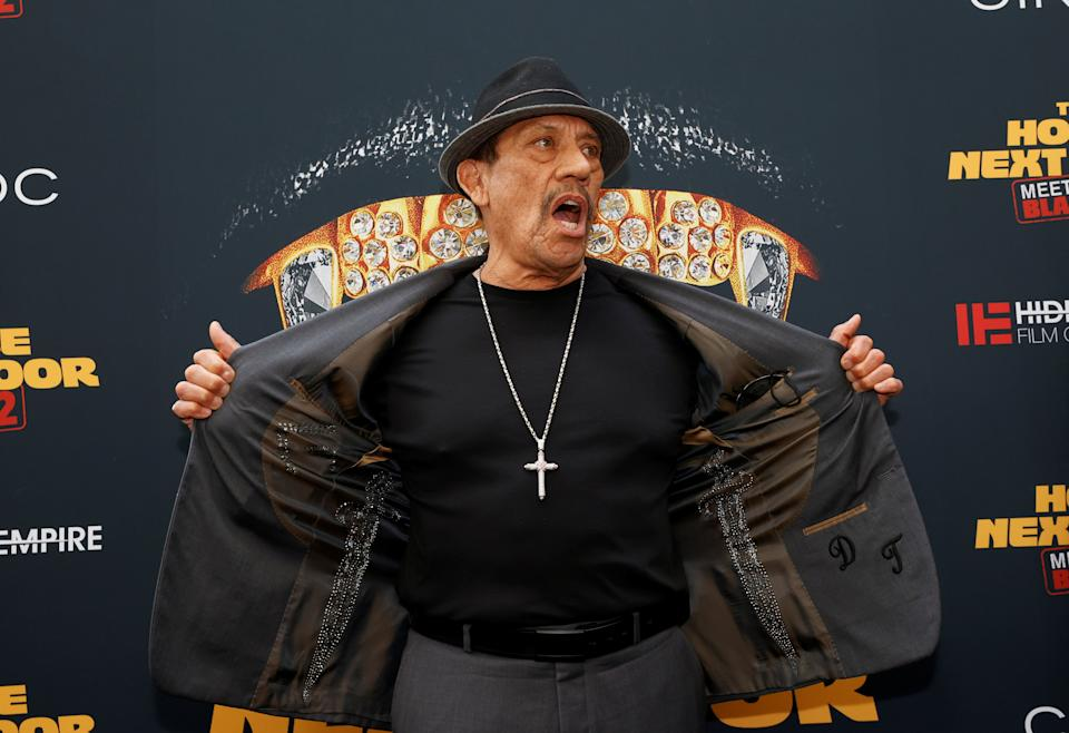 Danny Trejo attends the Los Angeles premiere for the film The House Next Door: Meet the Blacks 2 in June. REUTERS/Mario Anzuoni